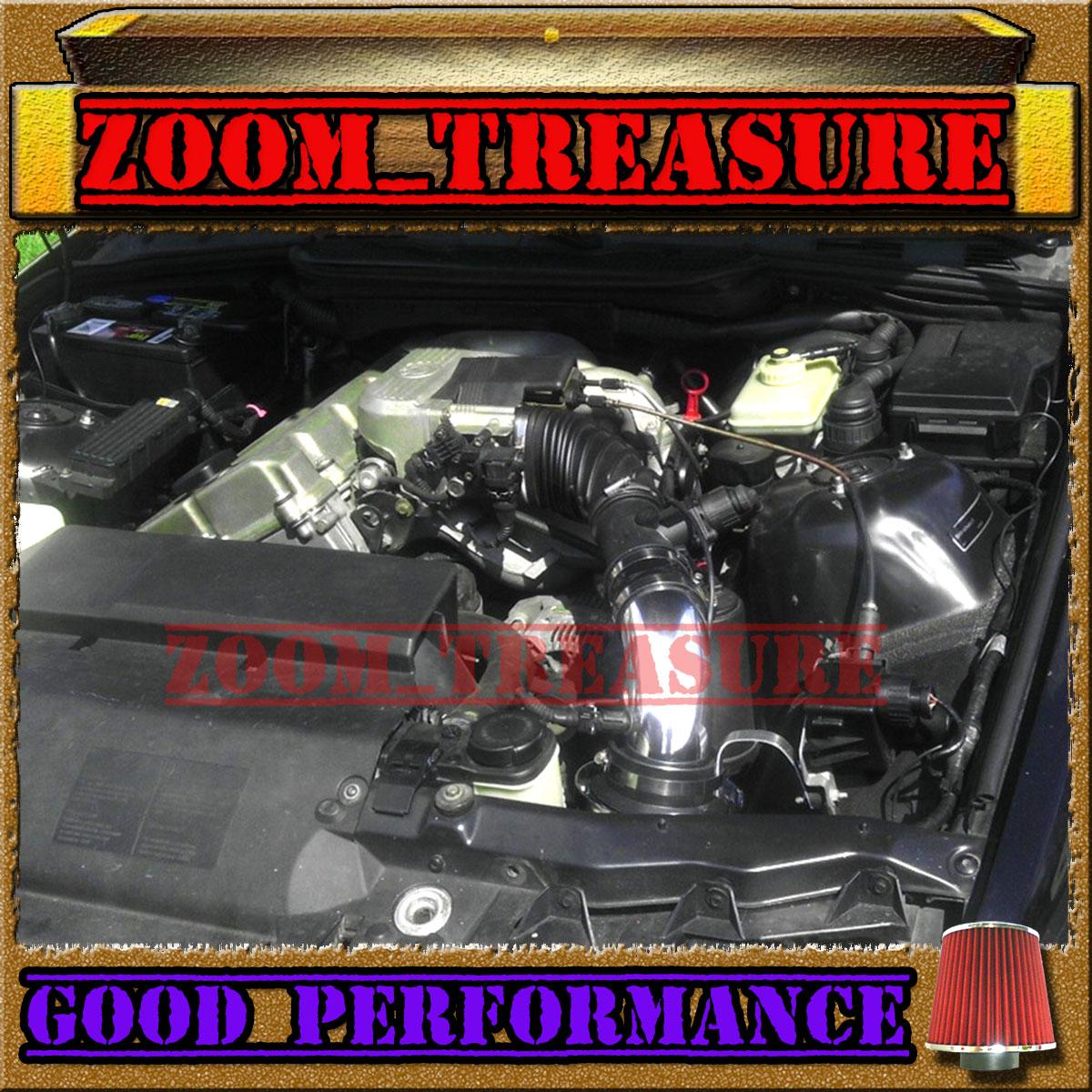 Bmw Z3 Engine: BLACK RED 1996-1999/96-99 BMW Z3 318i 318 I Is Ti 1.9L AIR