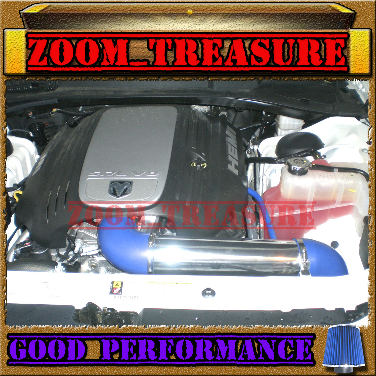 Procharger Supercharger Kit Chrysler 300 6 1l Srt8 2006: BLUE 2005-2015/05-15 CHARGER/MAGNUM/CHALLENGER/300 5.7/6.1