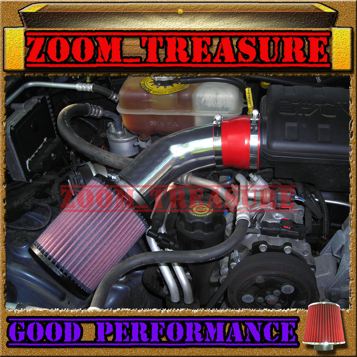 2002 Jeep Liberty For Sale >> RED 2002-2003/02-03 JEEP LIBERTY LIMITED/RENEGADE/SPORT 3.7L V6 AIR INTAKE KIT | eBay