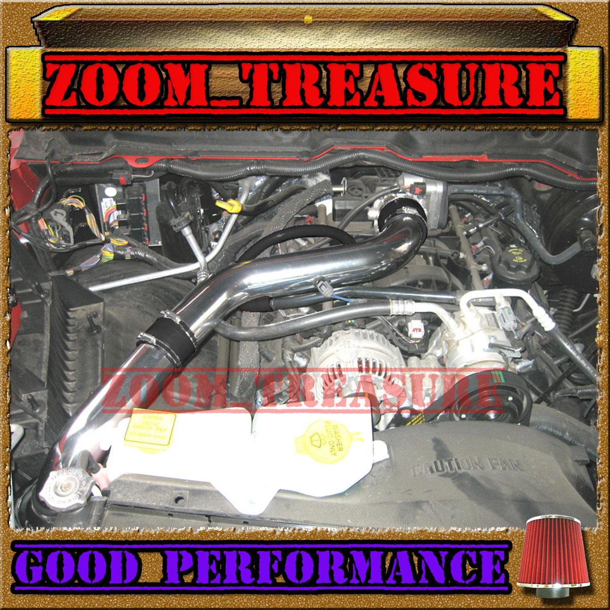 03-08 DODGE RAM 1500//2500//3500 5.7L V8 HEMI FULL COLD AIR INTAKE Blue ST3