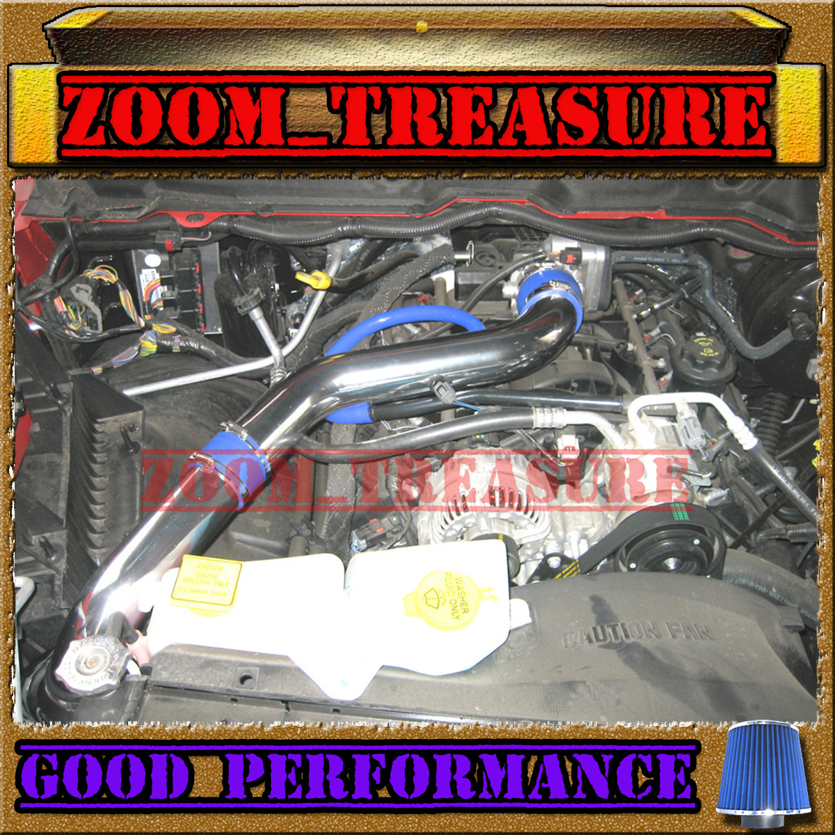 BLUE 2003-2008 DODGE RAM 1500/2500/3500 5.7 V8 HEMI FULL